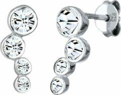 Elli Oorbellen 925 Sterling Zilver Klassiek Swarovski® Kristales