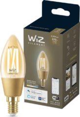 WiZ Filament Kaars - Slimme LED verlichting - Warm tot koelwit licht - E14 - Amber - Wi-Fi