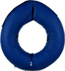Trixie Beschermkraag Opblaasbaar Blauw - Beschermnekkraag - 66-78 cm