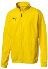 Trainingsjacke Liga Sideline Jacket 655667-02 mit Stehkragen Puma Cyber Yellow-Puma Black