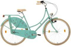 KS Cycling Hollandrad, 28 Zoll, mintgrün, 3-Gang-Shimano-Nexus-Nabenschaltung, »Tussaud«