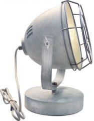 Tafellamp LED E27 40 W Energielabel: Afhankelijk van de lamp Brilliant Carmen 94927/70 Beton-grijs