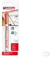 Edding edding 400 4-400-1-1002 Permanent marker Rood Watervast: Ja
