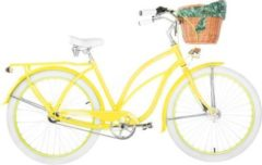 26 Zoll Damen Beach Cruiser Embassy Lemon... Deluxe, 3-Gang