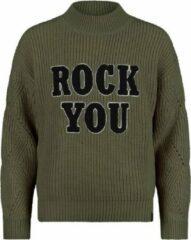 Kaki Retour Jeans Meisjes Sweater Maat 146/152
