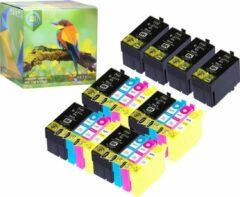 Cyane Ink Hero - 20 Pack - Inktcartridge / Alternatief voor de Epson 27XL T2711 T2712 T2713 T2714 WorkForce WF-3620DWF, WF-3640DTWF, WF-7110DTW, WF-7610DWF, WF-7620DTWF, WF-7620DWF, WF-7620TWF