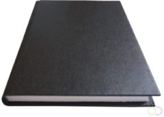 Office Schrift met harde kaft A5 400blz gelinieerd zwart