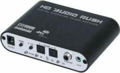 Zwarte AFINTEK Digital Audio Converter (DAC) met Dolby Digital