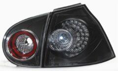 Universeel Set LED Achterlichten Volkswagen Golf V 2003-2008 excl. Variant - Zwart