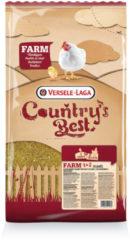 Versele-Laga Country`s Best Farm 1&2 Mash Groeikorrel Vlees Kip - Kippenvoer - 5 kg Van 0 Weken