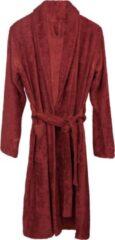 Rode Timboo badjas - maat XL - Rosewood