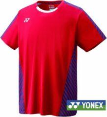 Yonex Viktor Axelsen Tournament polo rood maat XL