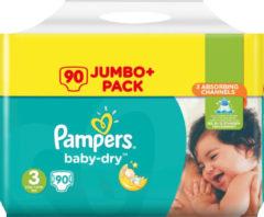 Pampers Baby-Dry Luiers Maat 3 - 90 Stuks