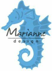 Blauwe Marianne Design Marianne D Creatable zeepaardje LR0536 ; 43x60 mm