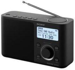 Sony XDR-S61D Transistorradio DAB+, FM AUX Zwart