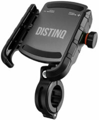 DistinQ Telefoonhouder Fiets - Universeel - 360 Graden Draaibaar - Smartphone & GSM Telefoon Fietshouder iPhone - Samsung - Zwart