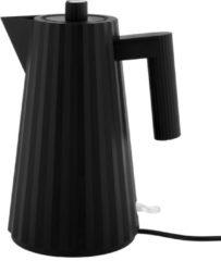 Alessi Plisse Waterkoker MDL06 B, zwart