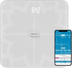 Medisana BS 450 ws Analyse-personenweegschaal Weegbereik (max.): 180 kg Wit Met Bluetooth, ITO-sensoren