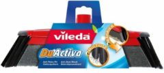 Rode Vileda 'Duactiva' bezem zonder steel