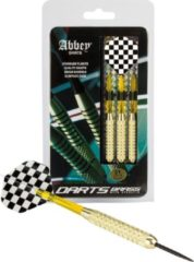 Abbey Darts Darts - Brass - Zwart/Wit - 21
