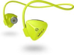 Avanca D1 Bluetooth Sports Headset Geel - In Ear - Sport Headset - Bluetooth - Draadloos - Regen- en zweetproof - Lichtgewicht
