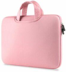 Geeek Airbag MacBook 2-in-1 sleeve / tas voor Macbook Air / Pro 13 inch - Roze