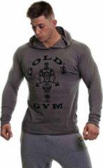Donkergrijze Gold's gym Muscle Joe Long Sleeve T-Shirt - Grey Marl - L
