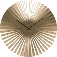 Gouden Karlsson Klok Wall clock Sensu XL steel gold