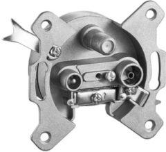 Zilveren Wentronic 67046 Zilver kabeladapter/verloopstukje
