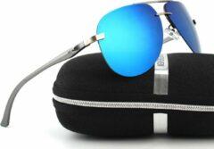 Wialy KingSeven Air - Pilotenbril met open montuur - UV400 en polarisatie filter - Z67