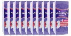 Always Dailies Inlegkruisjes Large Voordeelverpakking 10x30st