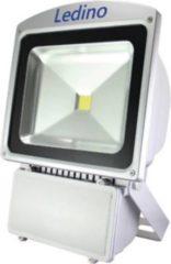 Ledino LED-Flutlichtstrahler in Silber mit Epistar LEDs, 80 W, neutralweiß