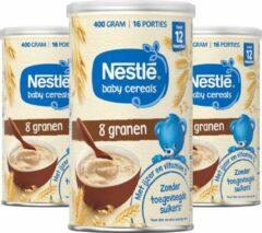 Nestlé baby cereals 8 Granen - baby pap - vanaf 12 maanden - 3 stuks