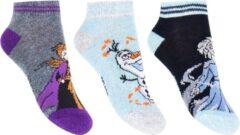 Disney Frozen Sneaker Sokken 3-Pack maat 31-34