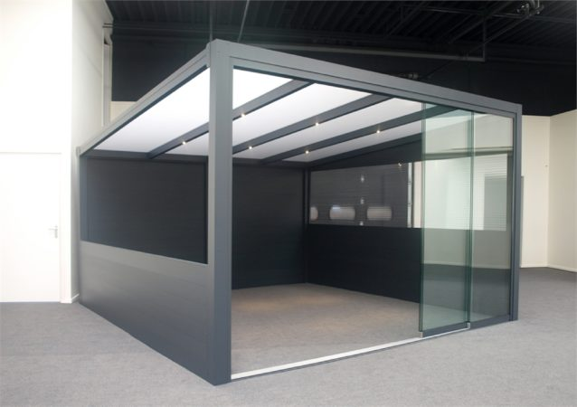 Afbeelding van Deponti Deopnti | Aluminium Terrasoverkapping Ribolla 406x300