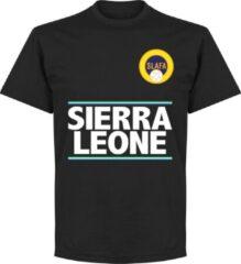 Merkloos / Sans marque Sierra Leone Team T-Shirt - Zwart - XS