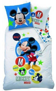 Afbeelding van Disney Mickey Mouse Expressions - Dekbedovertrek - Eenpersoons - 140 x 200 cm - Multi