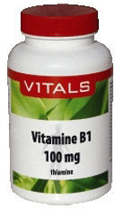 Vitals Vitamine B1 100 mg Voedingssupplement - 100 vegicaps