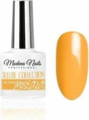 Gele Modena Nails Gellak Allure - Mostaza 7,3ml.