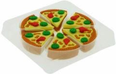 Gum Palms&Pizza Pizza. Setje van 6 stuks gummentjes in de vorm van een pizza-slice.