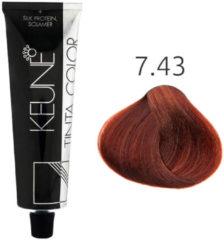 Keune - Tinta Color - 7.43 - 60 ml