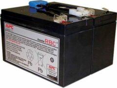 Zwarte APC Batterij Vervangings Cartridge APCRBC142