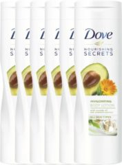 Dove Nourishing Secrets Invigorating - 6 x 250 ml - Bodylotion - Voordeelverpakking