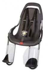 Qibbel fietszitje achter Basiselement zwart (Q100)
