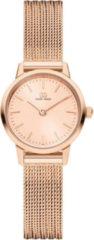 Roze Danish Design watches edelstalen dameshorloge Akilia Mini Rosegold IV08Q1268