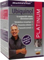Mannavita Mannavital Platinum Ubiquinol Capsules Vitaliteit 60capsules