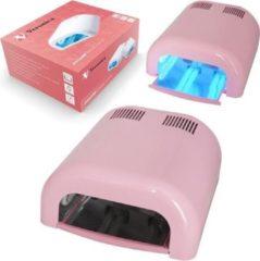 Veronica Nail Products UV nagel lamp / nagel oven TUNNEL met timer UVT-36, BARBIE ROZE. Professionele nageldroger voor gels, gel polish, gel nagellak, gellak en andere nagelproducten! Voor nagelstyliste / pedicure / manicure. Op zoek naar een goede nagel