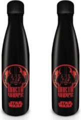 Zwarte Hole In The Wall Star Wars Darth Vader - Metal Drinkfles