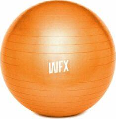 #DoYourFitness - Gymnastiek Bal - »Orion« - zitbal en fitness bal ter ondersteuning van lichaamshouding, coördinatie en balans - Maat : 55 cm. - oranje