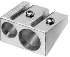 Puntenslijper Westcott aluminium dubbel kegelvorm